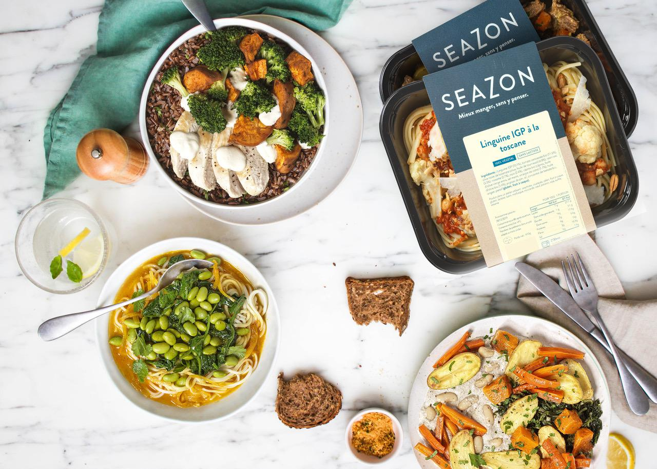 Seazon - 25% de remise sur vos plats à domicile !