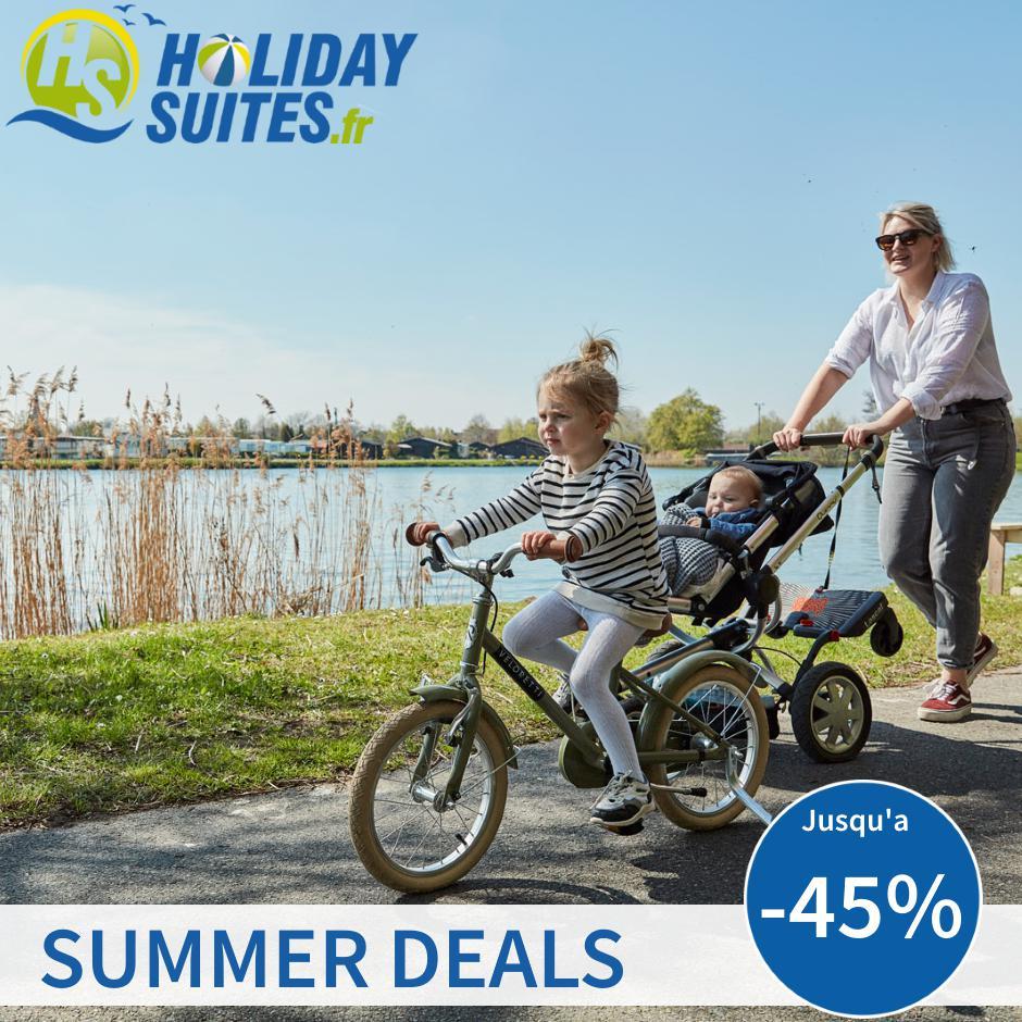 SUMMER DEALS Holiday Suites – Jusqu'à -45%