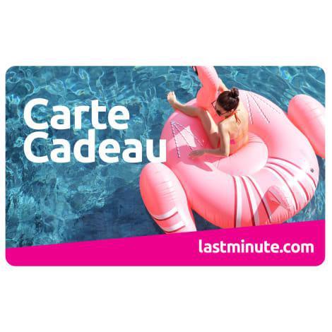 E-Carte Cadeau - Lastminute.com - 100€ - Profitez du bon temps (en rose) !