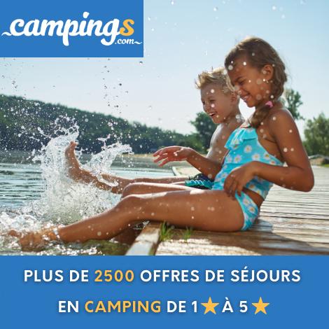 Campings.com - Jusqu'à 60% de remise et les frais de dossiers offerts !