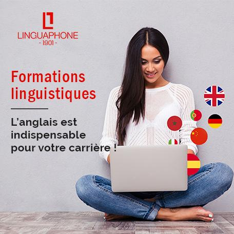 LINGUAPHONE – Formations linguistiques 100% finançables – Frais de dossier offerts (60€)