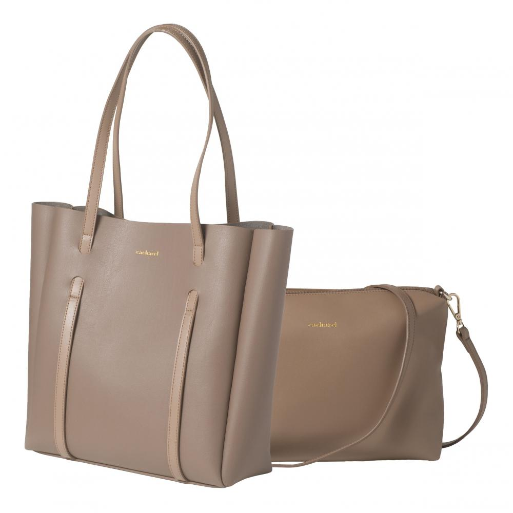 Cacharel - Sac shopping Montmartre Taupe