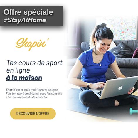 Shapin' - Votre sport à la maison à -55% !