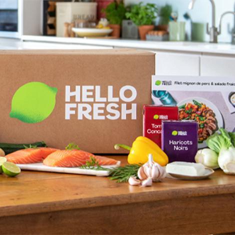 HelloFresh - 60€ offerts sur vos 4 premières commandes