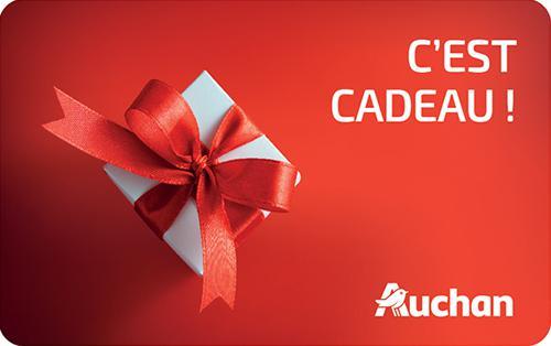 Carte Cadeau - Auchan - 50€