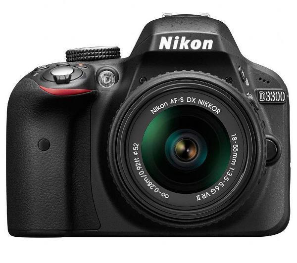 D3300 - Digitale fotocamera + lens AF-S VR II DX 18-55 mm