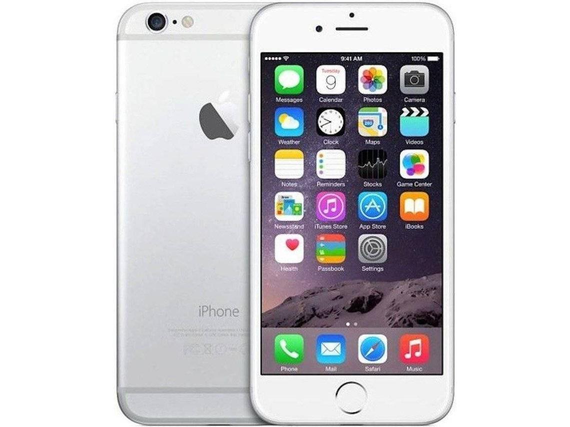APPLE Grado A + iphone 6 16GB plata