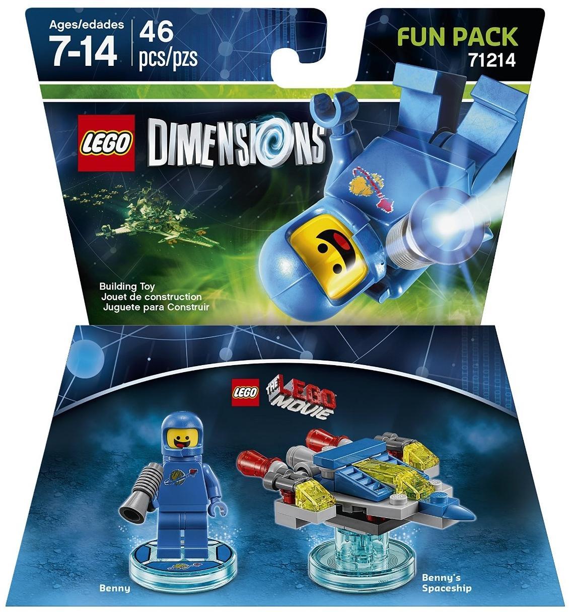 Lego Grande La Bros Figurine Dimensions Aventure Benny Warner Tulc3K1JF