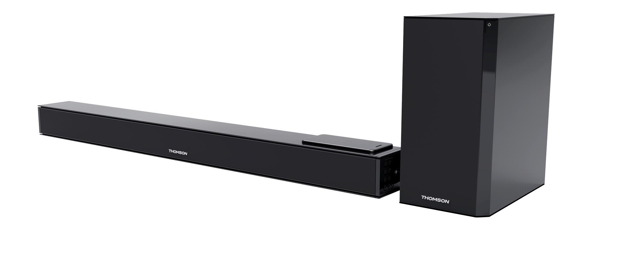 BIGBEN INTERACTIVE SB260IBT haut-parleur soundbar 2.1 canaux 300 W Noir