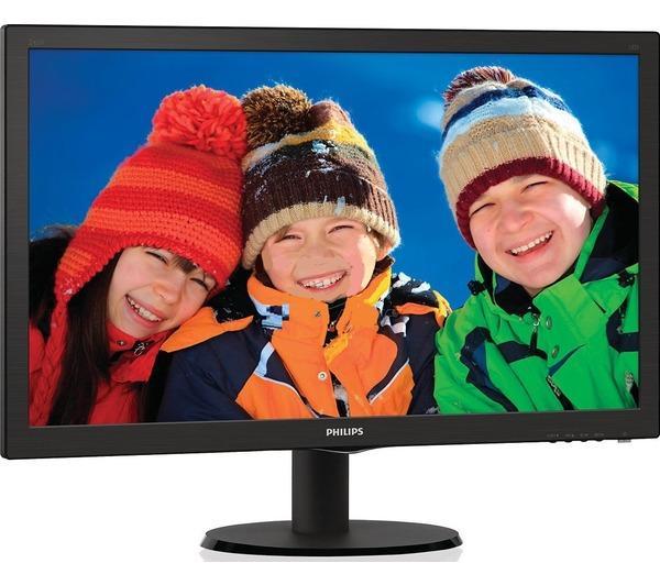 Ecran 23.6' LED - 243V5LHSB 1920 x 1080 pixels - 1 ms (gris ŕ gris) - Format large 16/9 - HDMI - Noir
