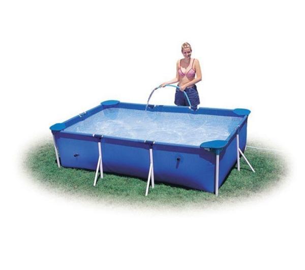 intex piscine tubulaire rectangulaire 300 x 200 cm. Black Bedroom Furniture Sets. Home Design Ideas