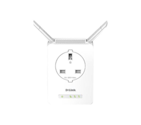 DAP-1365 N300 Wi-Fi Range Extender with Power Passthrough - Extension de portée Wifi - 10Mb LAN, 100Mb LAN - 802.11b/g/n - 2.4 GHz
