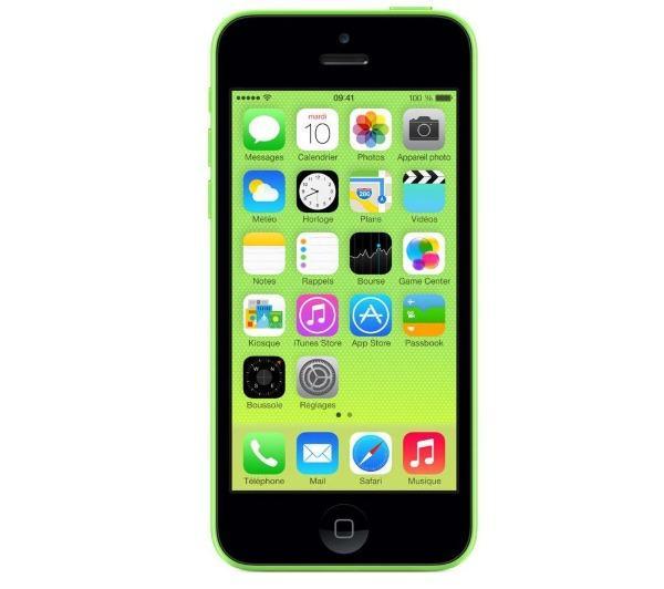 Smartphone APPLE IPHONE 5C VERT 16GO