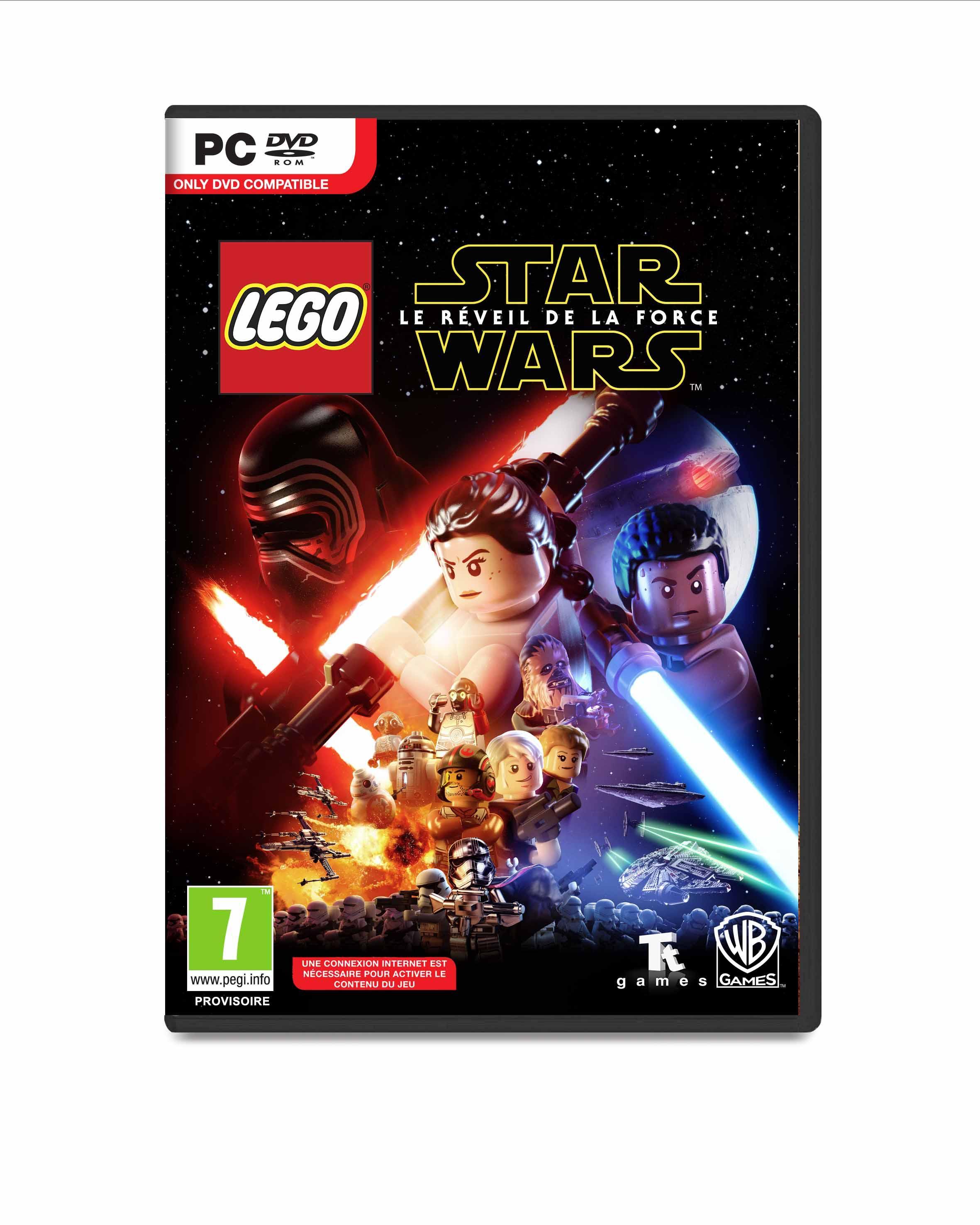 Bros Le Star Force Lego Wars La Warner Réveil De jGSULqzMVp