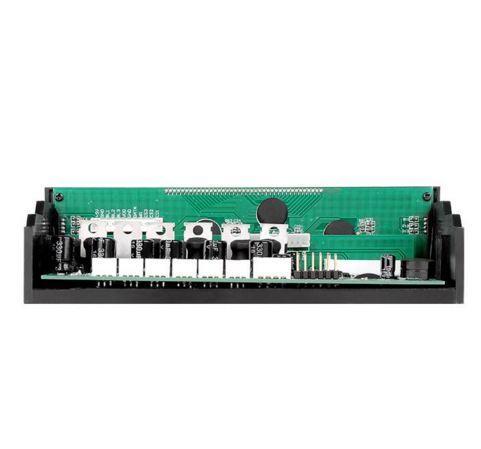 COMMANDER F6 contrôleur de vitesse du ventilateur 6 canaux Noir LCD