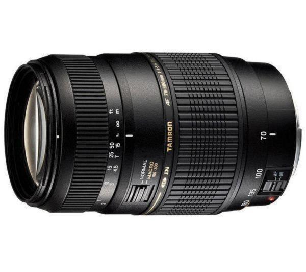 AF 70-300mm F/4-5,6 DI LD MACRO 1:2 - Lens voor Sony A-mount