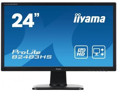 "IIYAMA ProLite B2483HS-1 - Full HD LED-scherm 24"" - zwart"