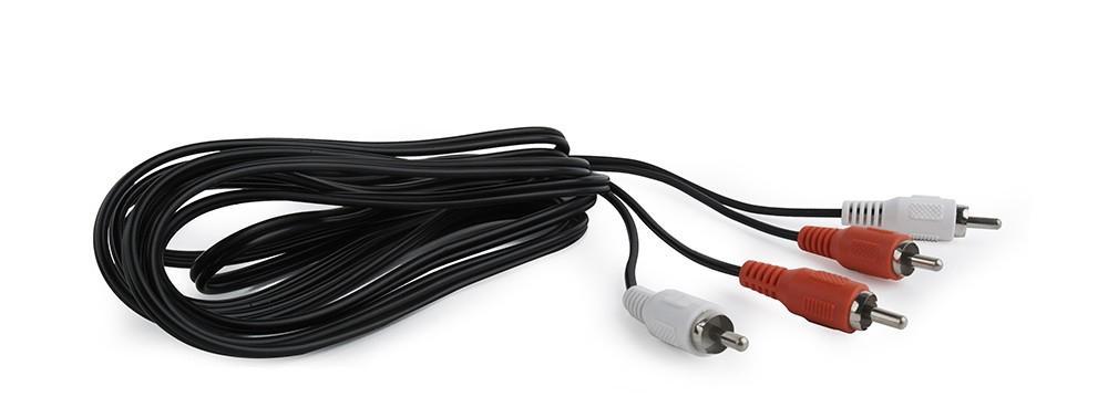 CCA-2R2R-6 câble audio 1,8 m 2 x RCA Noir, Rouge, Blanc