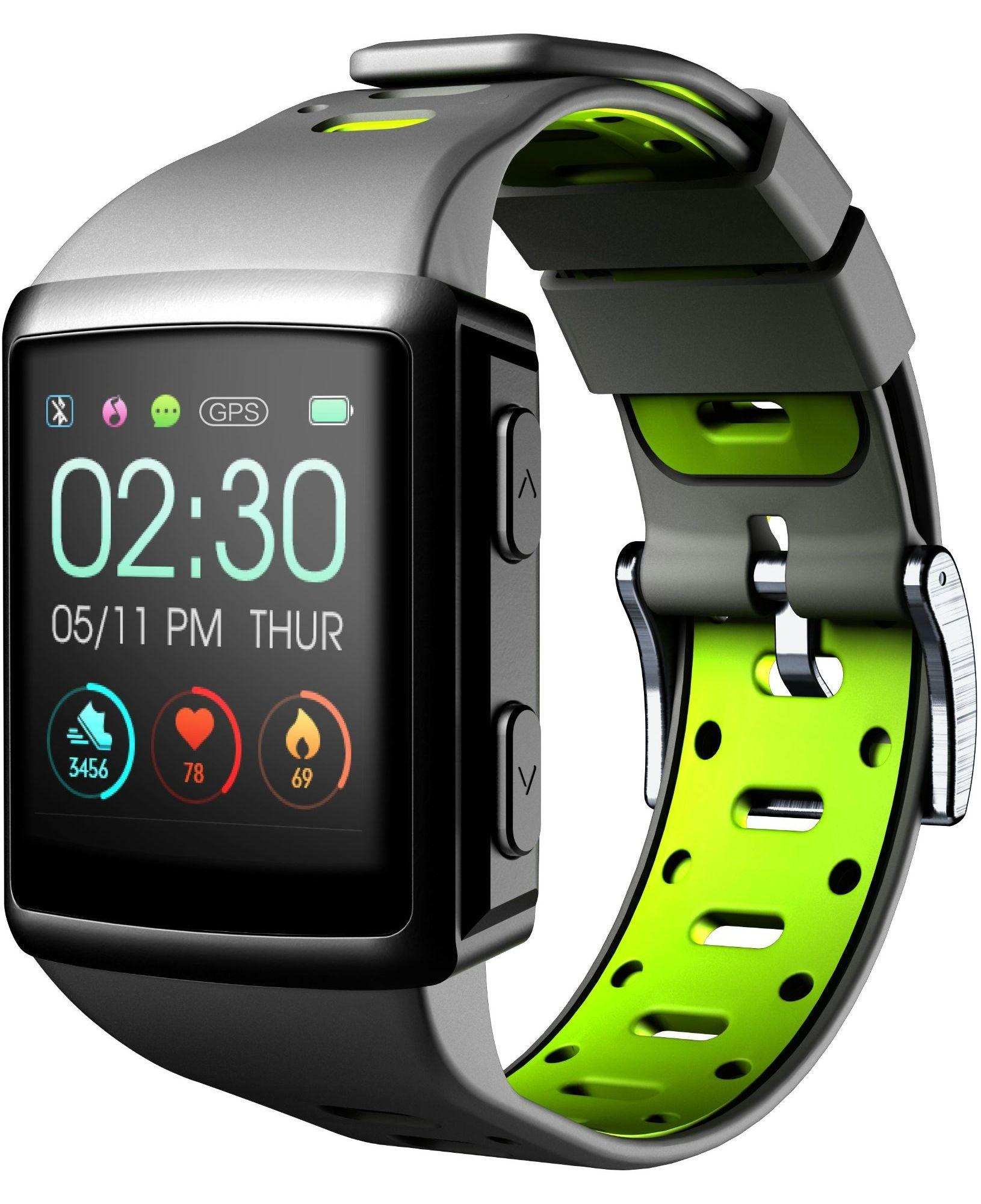 Easysport GPS montre intelligente Noir GPS (satellite)