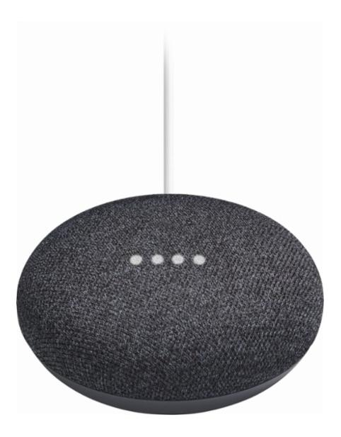 GOOGLE Home Mini Charbon