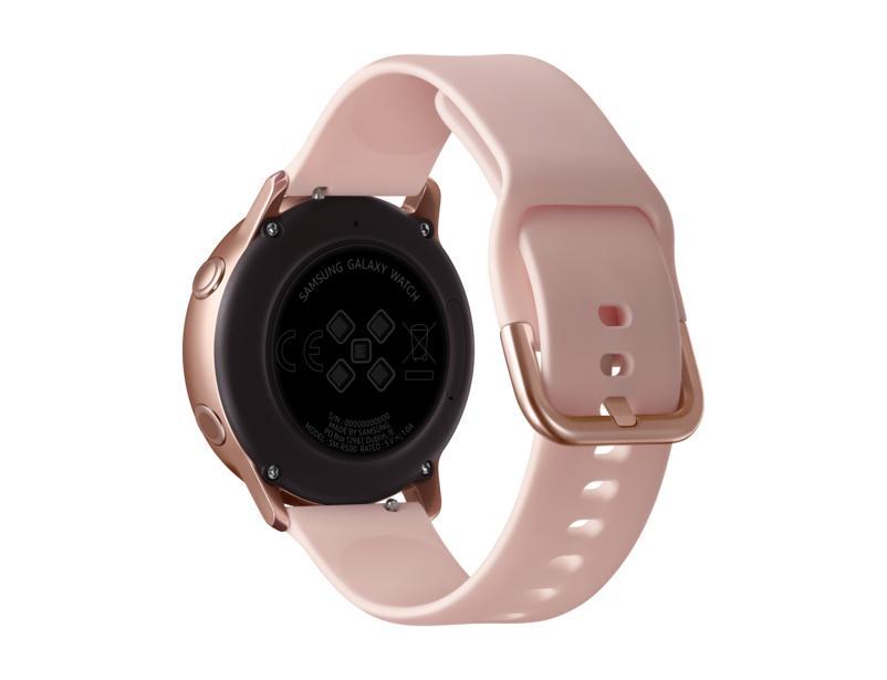 "Galaxy Watch Active montre intelligente Or SAMOLED 2,79 cm (1.1"") GPS (satellite)"