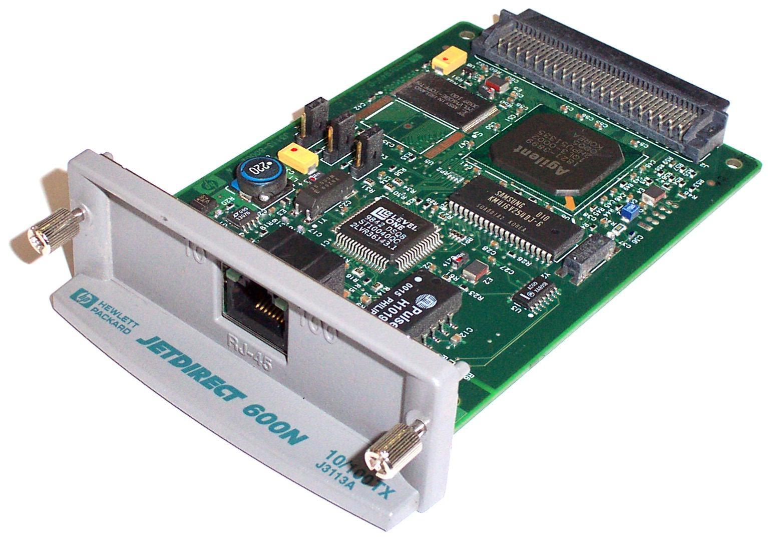 Jetdirect 600N serveur d'impression Ethernet LAN Interne