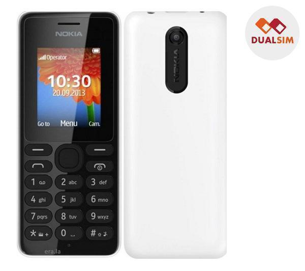 Téléphone GSM NOKIA 108 BLANC