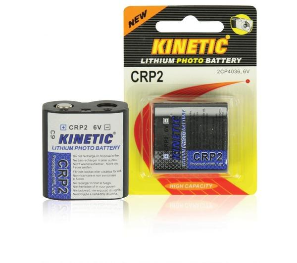 CRP2 lithium photo battery