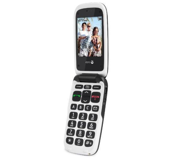 PhoneEasy 612 - zwart / wit - Mobiele telefoon
