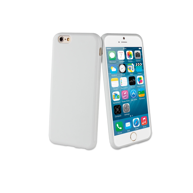 3a361810c64 Funda - MUVIT - funda Cristal Soft Apple iPhone 6S/6 blanca | Pixmania