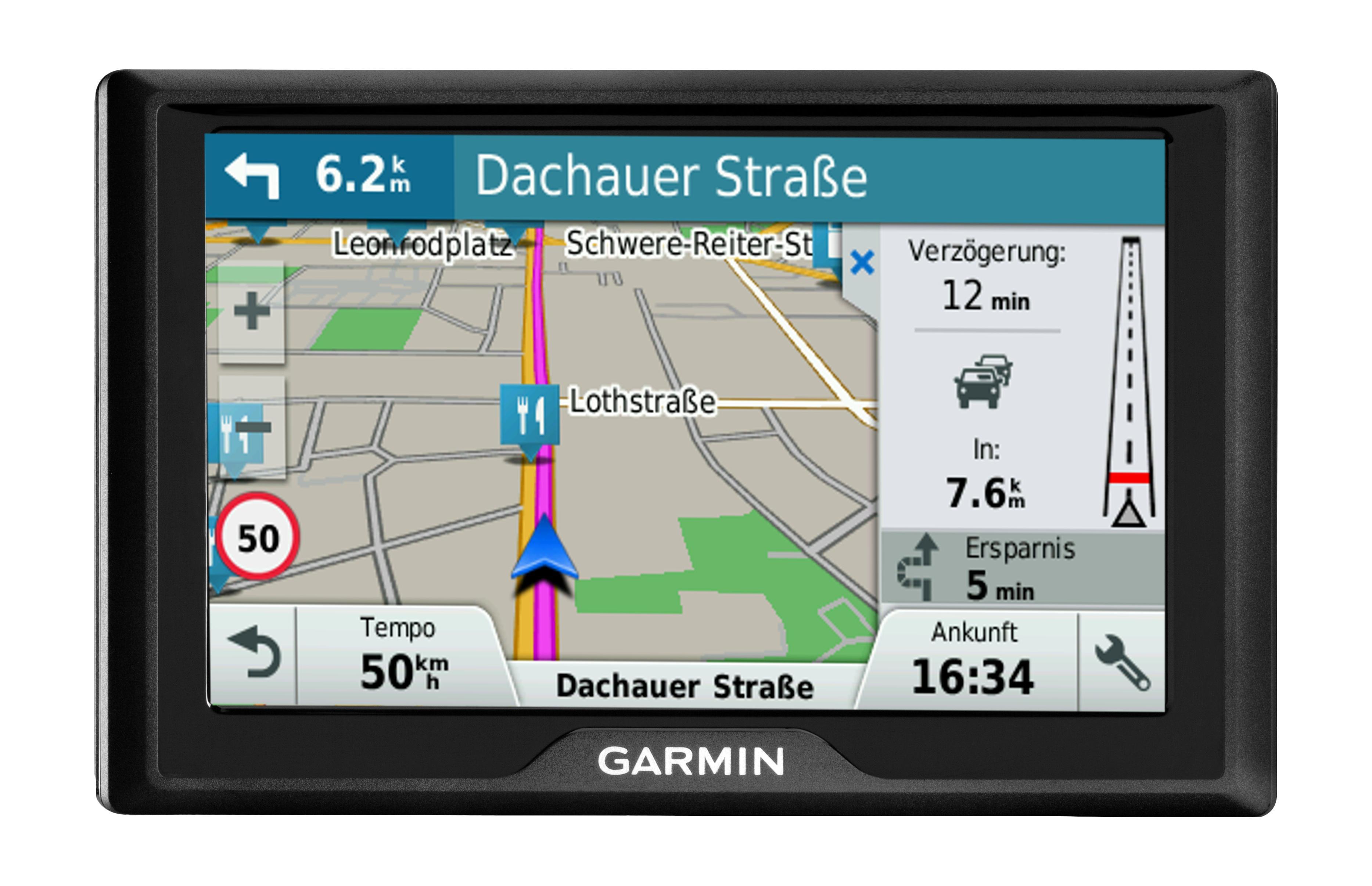 """Drive 40LMT navigateur 10,9 cm (4.3"""") Écran tactile TFT Fixé Noir 144,6 g"""