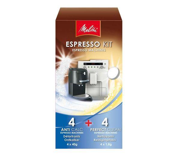 Kit nettoyage expresso spécial machine automatique et à dosettes