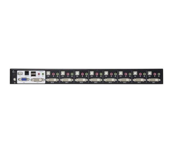 Switch KVM 8 ports DVI-I USB 2.0