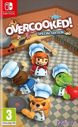 Just Overcooked For Switch Edition Games Special 9HWEDIY2