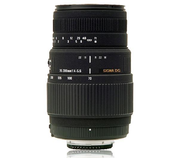 70-300mm F4-5,6 DG Macro - Lens voor Sony