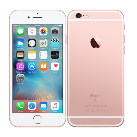 APPLE iPhone 6S 128 Go - Or Rose - Débloqué