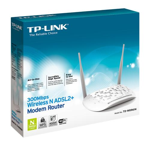 TD-W8961N routeur sans fil Fast Ethernet Blanc