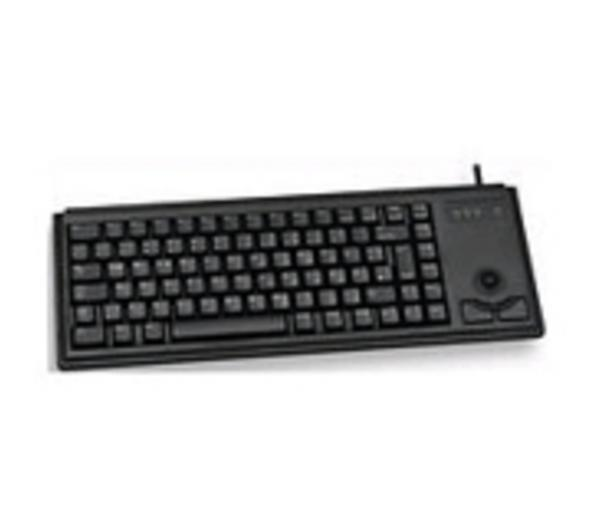 Compact Ultraslim Trackball Keyboard USB (B