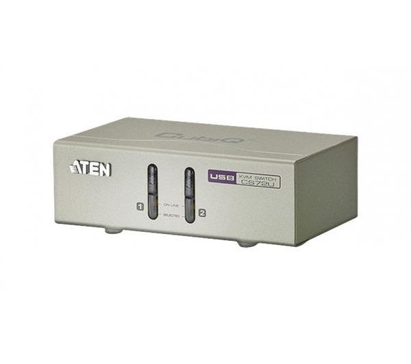 CS72U kvm 2 ports vga/usb/audio + cables