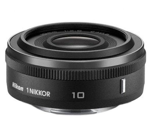 1 Nikkor 10mm f/2.8-lens - mat zwart