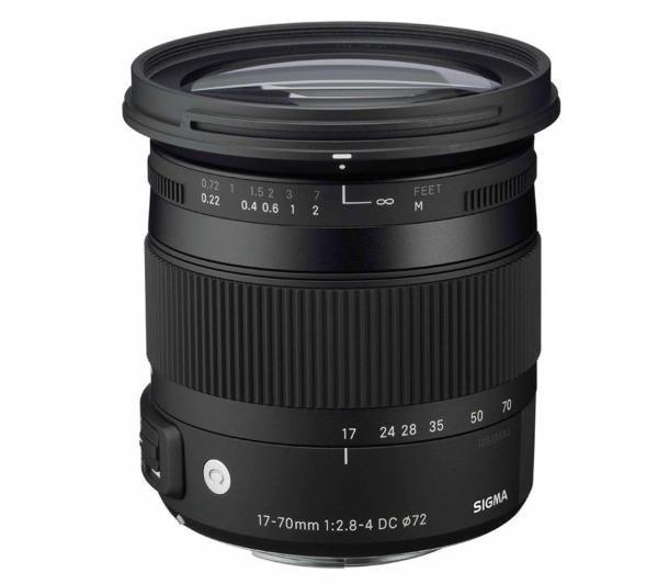- Zoomlens - 17 mm - 70 mm - f/2.8-4.0 DC Macro HSM - Pentax K