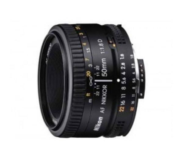 Lens AF50MM F/1.8D