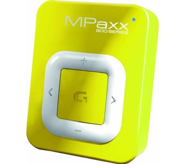 Comparer GRUNDIG MPAXX 920 JAUNE 2GO