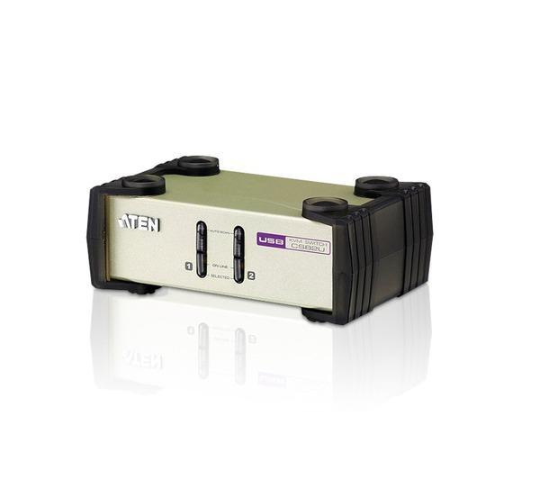 2 port PS/2 - USB KVM switch