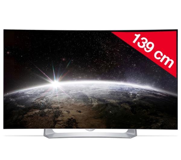 55EG910V - gebogen OLED televisie 3D Smart TV