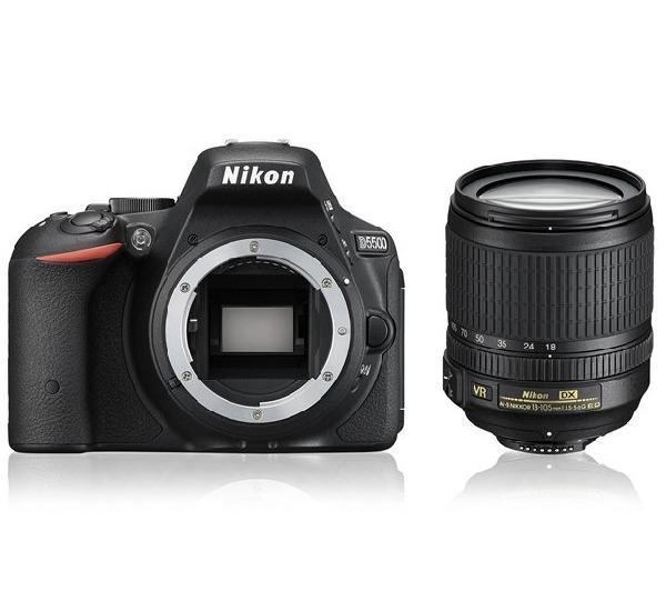 D5500 - Digitale camera  + AF-S DX VR 18-105 mm lens