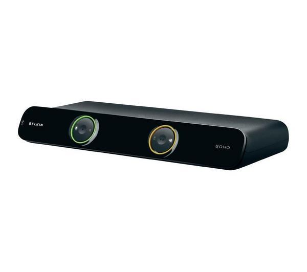 F1DD102LEA 'omniview soho v2' switch kvm, jusqu'à 2 ordinateurs, ports usb/dvi, prise en charge de haut-parleurs, livrés avec 2 kit câbles