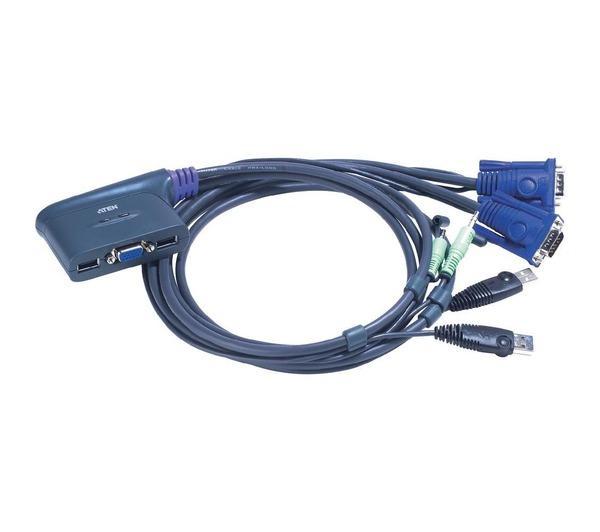 Switch KVM Easy à 2 ports VGA USB