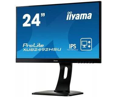 """ProLite XUB2492HSU-B1 23.8"""" Full HD IPS Mat Noir écran plat de PC LED display"""