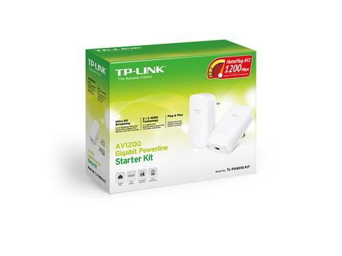 AV1200 1200 Mbit/s Ethernet/LAN Blanc 2 pièce(s)